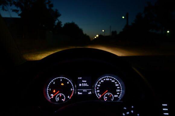 Ночное вождение: будьте начеку